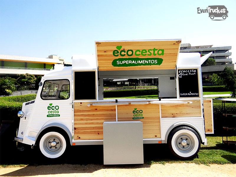 Food Truck Citroen Personalizada