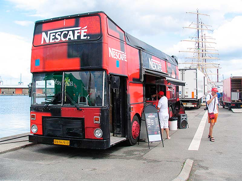 Nescafe CoffeTrucks