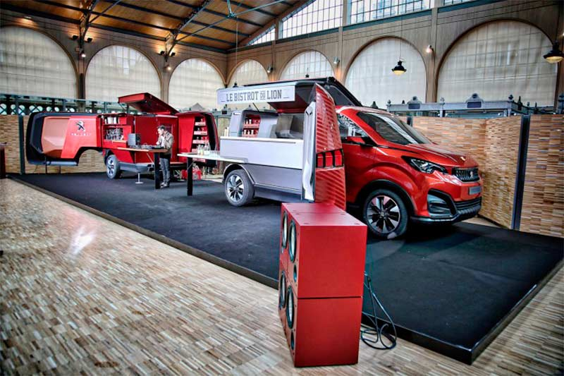 Peugeot FoodTrucks