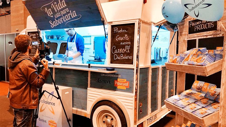 FoodTruck DiaBalance de calidad Pascual.