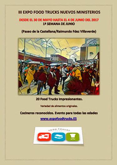 Expo Food Trucks Nuevos Ministerios