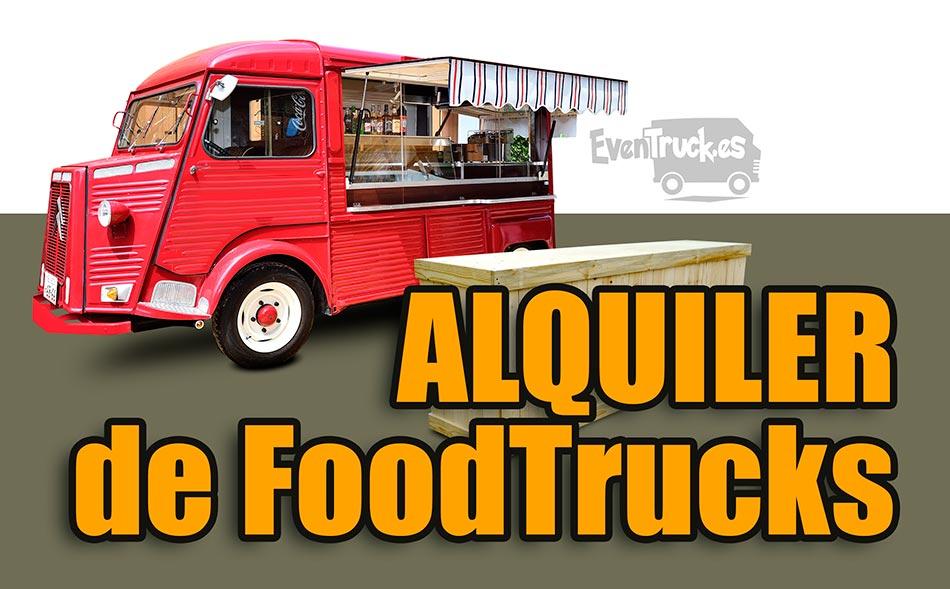 Alquiler Food Truck en Madrid