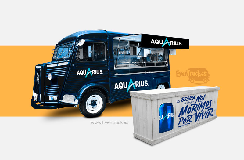FoodTruck Aquarius Metalizada