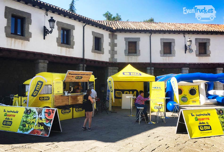Evento BM Supermercados con FoodTrucks