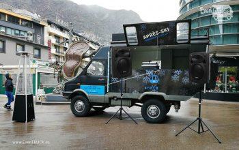 Evento DJTruck Aprés-Ski en Andorra
