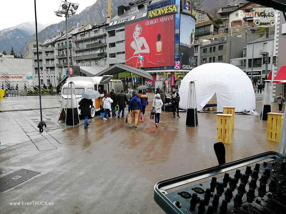 Evento DJTruck Apres Ski en Andorra