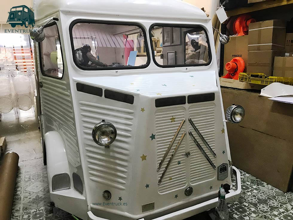 FoodTruck Citroën H1