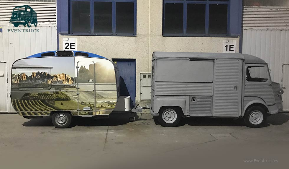 FoodTruck Citroën H1 - Catusa