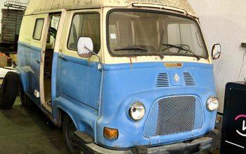 Nueva Incorporación a Nuestra Flota: Renault Estafette 1968