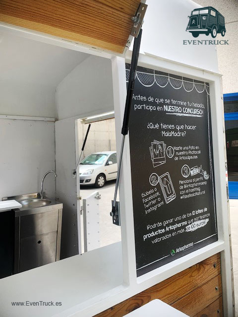 Detalle Decoración FoodTruck