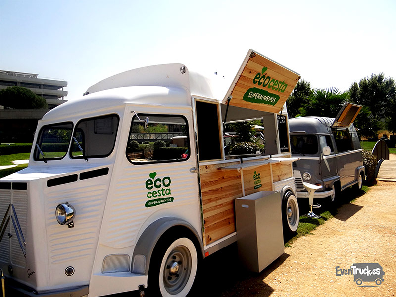 Food Truck vista Lateral