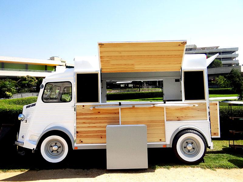 Food Truck Citroen vista Frente