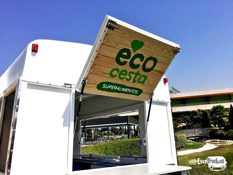 Food Truck Citroen vista Ventana Abatible