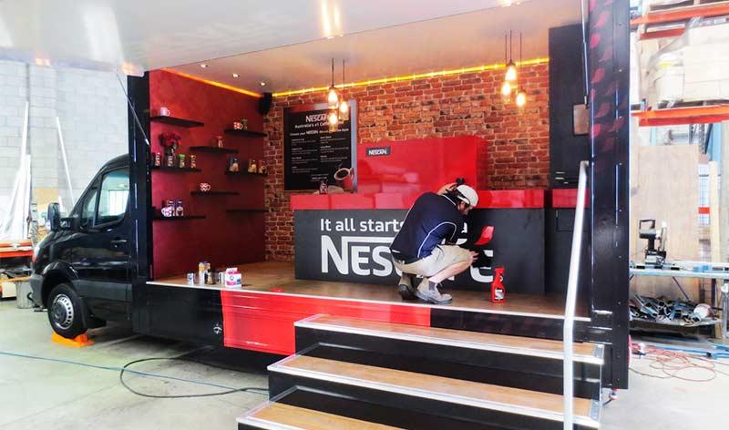 Nescafe CoffeTrucks