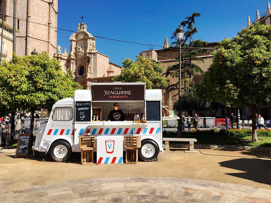 Eventruck a las Fallas Valencia 2017