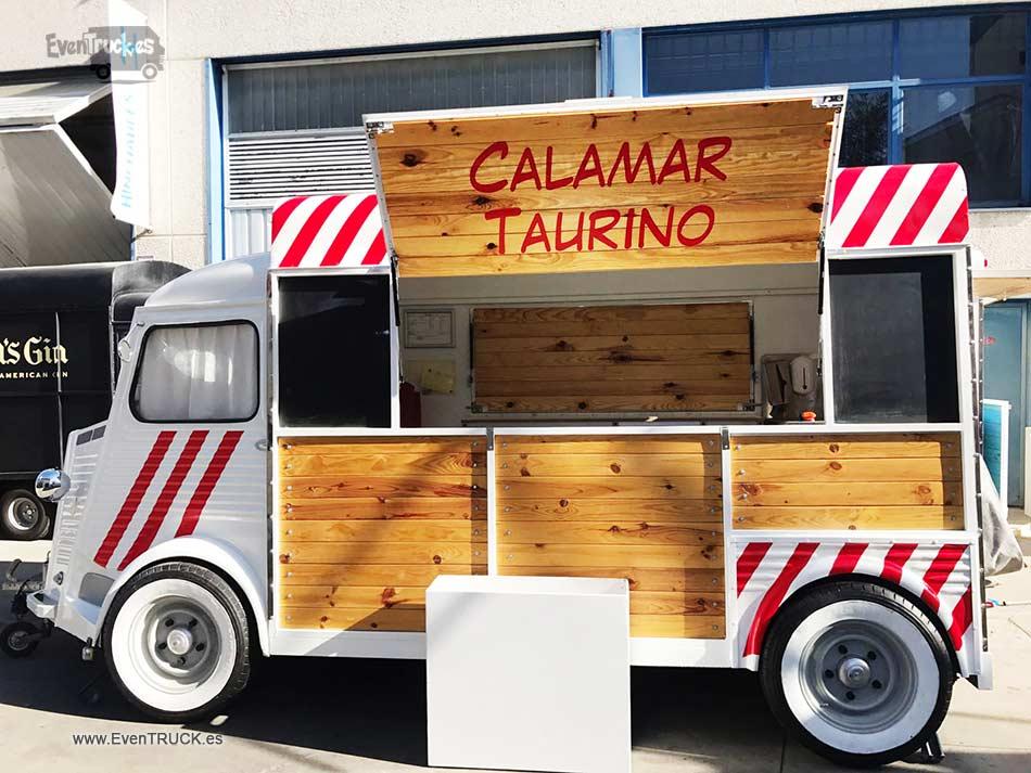 Food Truck Calamar Taurino