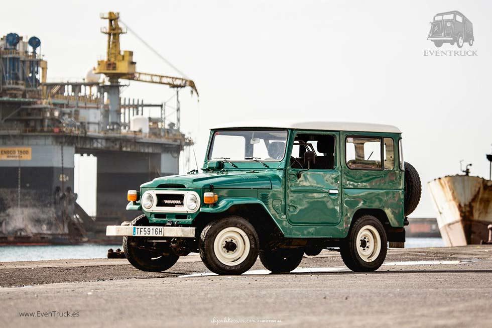 Los Land Rovers & Land Cruiser… ¡ESTÁN DE MODA!