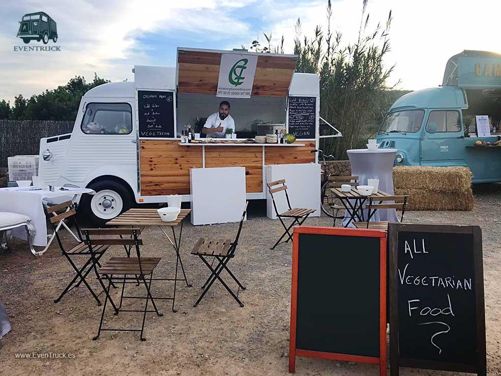 Terrazas y Espacios con Food Trucks